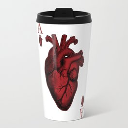 Ace of Hearts Travel Mug