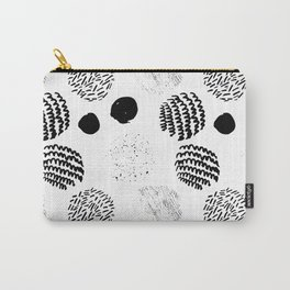 Abstract Hand Drawn Patterns No.5 Carry-All Pouch