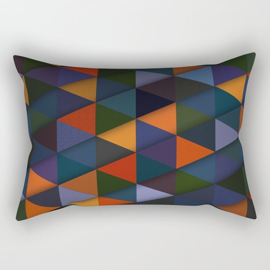 Abstract #285 Rectangular Pillow