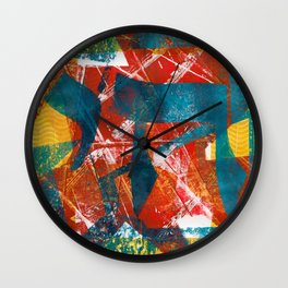 Abstract Chai Wall Clock