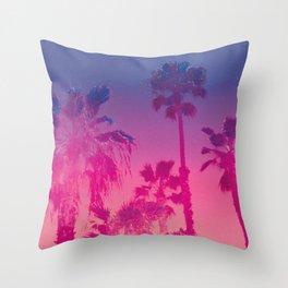 Vibrant Palm Throw Pillow