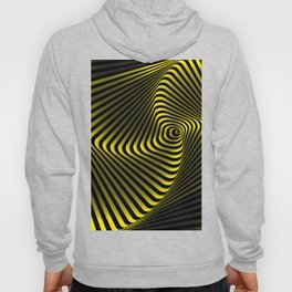 Abstract geometric shape  - rotating elements of lines and circles. Hoody