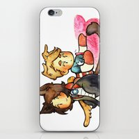stucky iPhone & iPod Skins featuring stucky by noCek