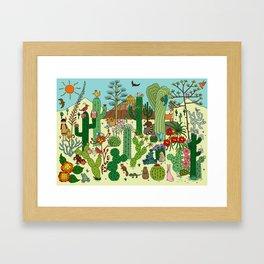 Arizona Desert Museum Framed Art Print