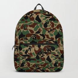 Dachshund  Camouflage Backpack