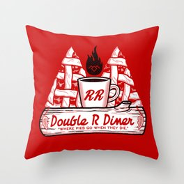 Heaven for Pies Throw Pillow