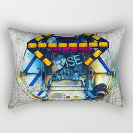 Rise The Obstacle Is The Road Rectangular Pillow