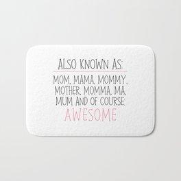 Awesome Mom Bath Mat