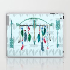 Feathers, Bow, and Arrows in Watercolor Laptop & iPad Skin