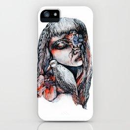 Death and Dahlia iPhone Case