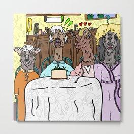 The Goaten Girls Metal Print