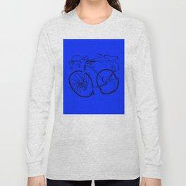 10-Speed -- Blue Long Sleeve T-shirt