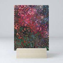 Colourful Happy Art Mini Art Print