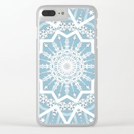 Winter morning. Clear iPhone Case