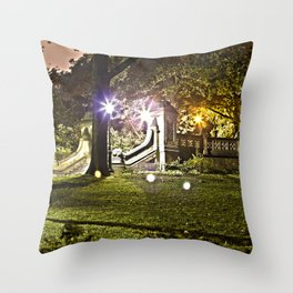 Central Park, NYC - HDR Throw Pillow