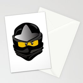 Ninjago face Cole Stationery Cards