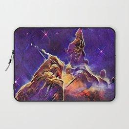 ALTERED Hubble Mystic Mountain- Carina Nebula Laptop Sleeve