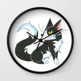 Tuxedo Wall Clock