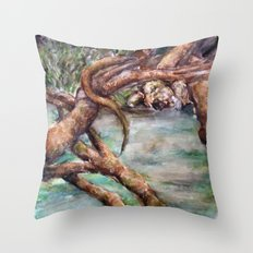 Moat Throw Pillow