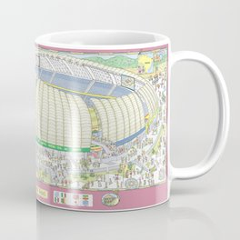 Dunas Arena, Natal, Rio Grande do Norte, Brazil Coffee Mug