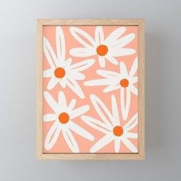 Happy Daisies Framed Mini Art Print