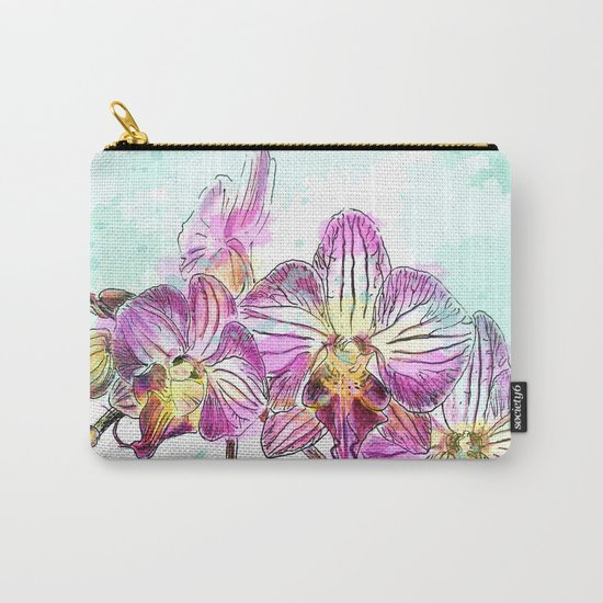 Orchids 02 Carry-All Pouch