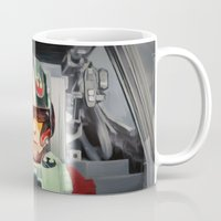 rebel Mugs featuring Rebel by Rabassa