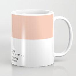Peachy - Colour Card Coffee Mug