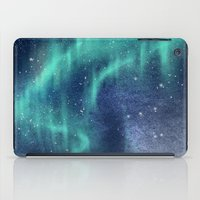 northern lights iPad Cases featuring Northern Lights by juliagingras