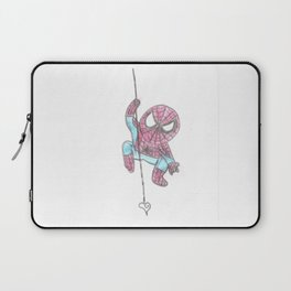 Spider Guy love web Laptop Sleeve
