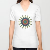 trippy V-neck T-shirts featuring Trippy by Lyle Hatch