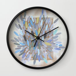 untitled, from 'transience' Wall Clock