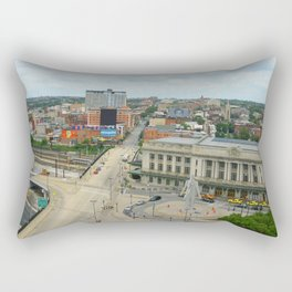 Penn Station, Baltimore Rectangular Pillow