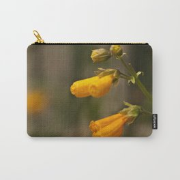 Golden Blooms Carry-All Pouch