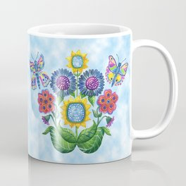 Butterfly Playground on a Summer Day Coffee Mug