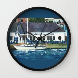 Pentwater Yacht Club Wall Clock