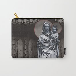 Virgin Mary And Infant Jesus Christ Carry-All Pouch