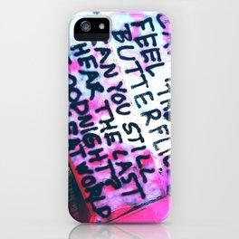 Feel the butterflies... iPhone Case