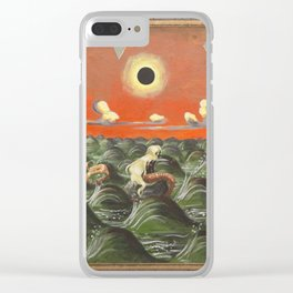 The Mermaid Clear iPhone Case
