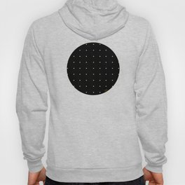 Black & Cream Polka Dots Hoody