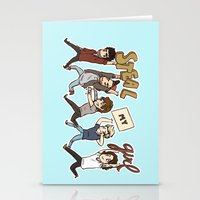 kendrawcandraw Stationery Cards featuring Everybody Wanna by kendrawcandraw