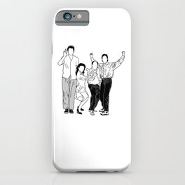 Seinfeld iPhone Case