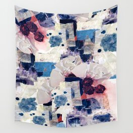 patchy collage Wall Tapestry