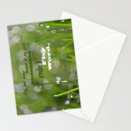 Psalm 119 Tears Stationery Cards