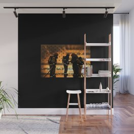Firefighters Wall Mural
