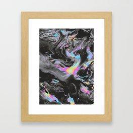 TEACH ME TO FIGHT Framed Art Print