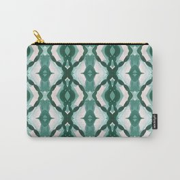 Watercolor Green Tile 1 Carry-All Pouch