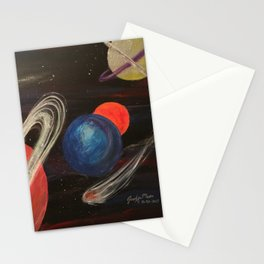 Planetoid Stationery Cards