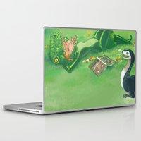 bouletcorp Laptop & iPad Skins featuring Spring by Bouletcorp