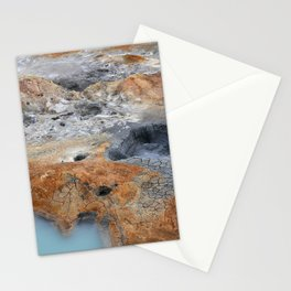 Boiling Mud Pots. Stationery Cards